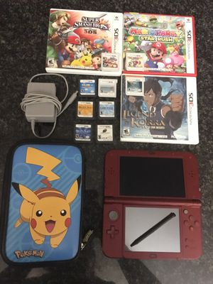 Nintendo 3ds xl with games and case for Sale in Apache Junction, AZ