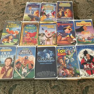 Disney classic VHS children's movies for Sale in Grandview, WA