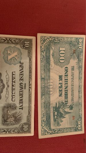 WW11 Japanese occupational military money for Sale in Fresno, CA