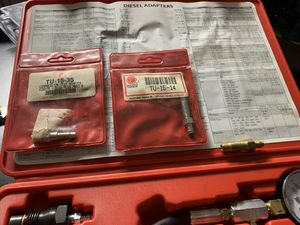 Matco DCT1553 Diesel Compression Tester for Sale in St. Petersburg, FL