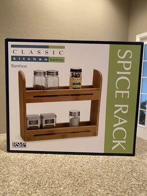 Bamboo Spice Rack for Sale in Tulsa, OK