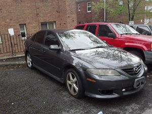 It's a 04 Mazda 6 and it has a zorse problem and a title problem too many signatures on a title it runs good and that's about it for Sale in Washington, DC