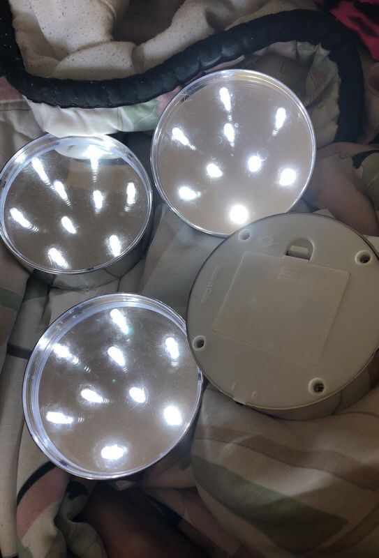 LED Lights perfect for makeup vanity!!