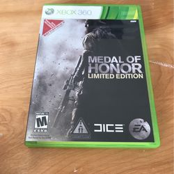 Xbox 360 Medal Of Honor for Sale in Puyallup,  WA