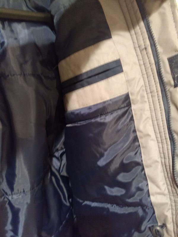 Men's Thick Coat with Detachable Hood