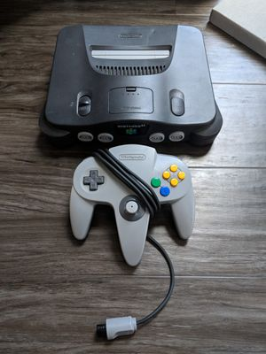 Nintendo 64 + 1 controller for Sale in Chicago, IL