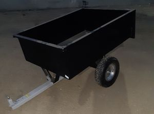 Hound works YARD trailer (for yard tractor/mower) (dump trailer) NEW for Sale in Bakersfield, CA