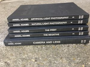 Ansel Adams 5 photo books set for Sale in San Jose, CA