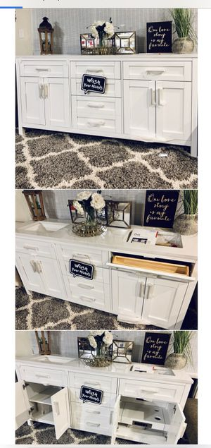 """72"""" Bathroom Vanity / Cabinet - Brand New for Sale in Spring Valley, CA"""