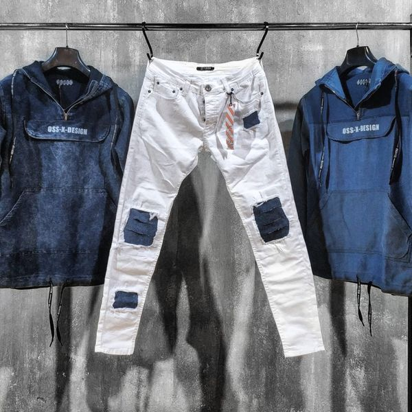 Men's white skinny jeans limited sizes now available