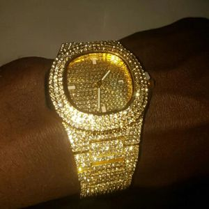 Iced Out Gold Watch for Sale in Fairfax, VA
