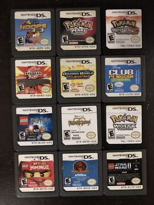 Nintendo DS games for Sale in Fort Worth, TX