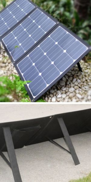 ACOPOWER 120W portable Solar Panel for Sale in Modesto, CA