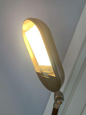 Sharper image natural spectrum reading floor lamp light for Sale in Honolulu, HI