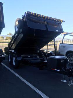 2019 Dump Trailer 8x10x2 for Sale in San Dimas,  CA