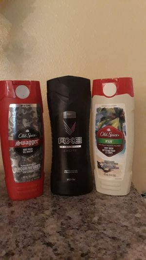 Old Spice, Axe, Bic Hybrid for Sale in Palm Harbor, FL