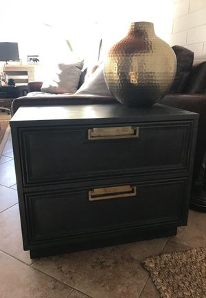 Antique side table with drawers for Sale in Orlando, FL