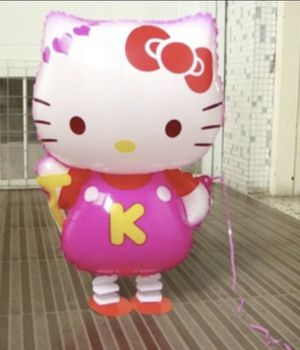 "Hello Kitty Walking Ballon 26"" Long for Sale in West Covina, CA"