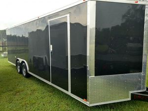 ENCLOSED VNOSE TRAILERS ALL SIZES 20FT 24FT 28FT 32FT IN STOCK FREE DELIVERY for Sale in Atlanta, GA