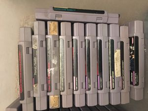 11 Super Nintendo games for Sale in Chino, CA