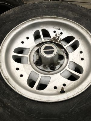 15' 5x4 1/2 trailer wheels.... 5 qty for Sale in Carson, CA
