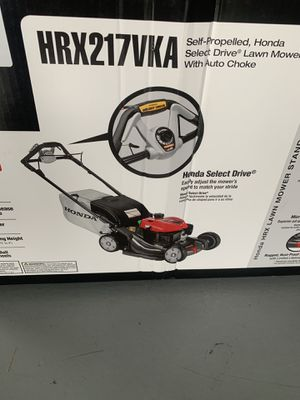 BRAND NEW Honda HRX217VKA lawn mower for Sale in Seattle, WA