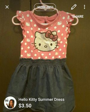 Hello kitty dress for Sale in Pittsburgh, PA