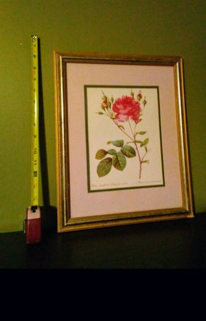 Picture with pink roses 16×13 for Sale in Springfield, MA