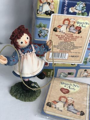 """Raggedy Ann And Andy Figurine 677736 """" Hop Over Troubles..."""" for Sale in NW PRT RCHY, FL"""