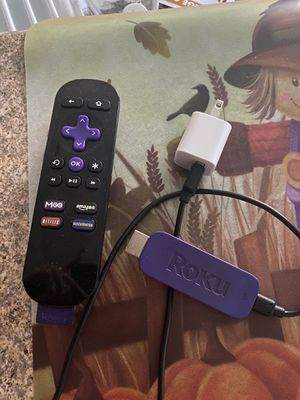 Roku stick and remote for Sale in Placentia, CA