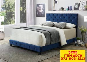 BED 🛌 INCLUDED MATTRESS (( FREE DELIVERY))🚚 for Sale in Dallas, TX