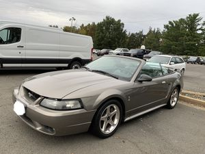 2001 Ford mustang SVT cobra convertible only 70,000 miles for Sale in Springfield, VA