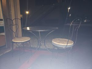 Antique table just need fix on the chairs . for Sale in San Diego, CA
