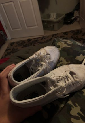 f6034ed4dd53 All white high top vans size 11.5 for Sale in Indianapolis