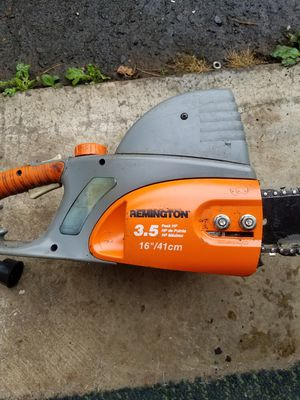 Remington electric chainsaw for Sale in Tualatin, OR