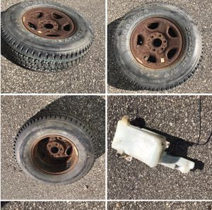 2004 Chevy Silverado spare tire never used and a few other miscellaneous parts located on the east side of Cleveland for Sale in WARRENSVL HTS, OH