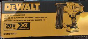 Dewalt 18g Brad Nailer Kit for Sale in Miami, FL