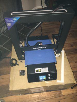 Jgaurora 3D printer for Sale in Phoenix, AZ