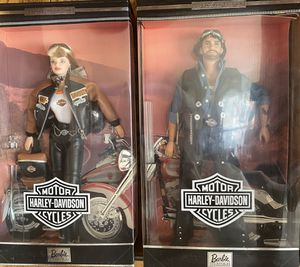 Ken & Barbie 1999 Harley collector edition (Never opened) for Sale in Moore, OK