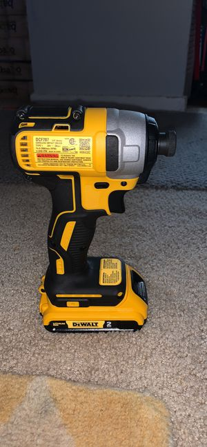 New impact drill and battery for Sale in Silver Spring, MD