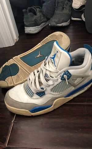 "Air Jordan Retro IV ""Military Blue"" for Sale in St. Louis, MO"
