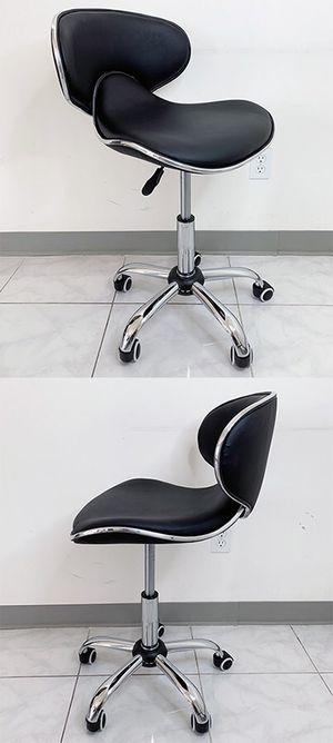 "New in box $45 Modern Swivel Stool w/ Wheels Salon Spa Medical Chair (Hydraulic Seat 17""-23"") for Sale in South El Monte, CA"