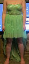 Lime green high low prom dress for Sale in Adairville, KY