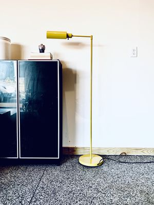 Vintage Modern Yellow Floor Lamp / Light for Sale in Mechanicsburg, PA