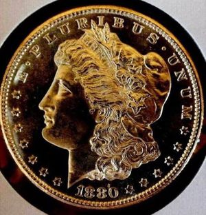 True Rarity PROOF 1880S Morgan Silver Dollar- Deep Cameo Mirrored- Unbelievable Mirrors- $3,000 Book Value- Listed One Day Only At $500! for Sale in Oakton, VA