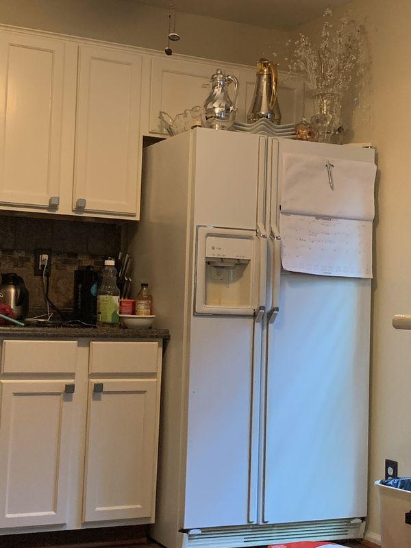 All Kitchen Appliance + White beautiful Cabinets - like new