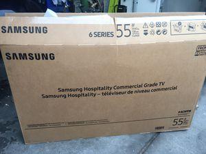 "55"" Samsung flatscreen t.v for Sale in Highland, CA"