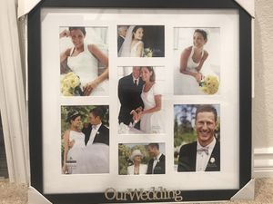 Wedding photo frame for Sale in Rancho Cucamonga, CA