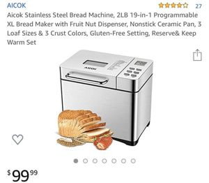 Stainless steel Bread Maker for Sale in Rancho Cucamonga, CA
