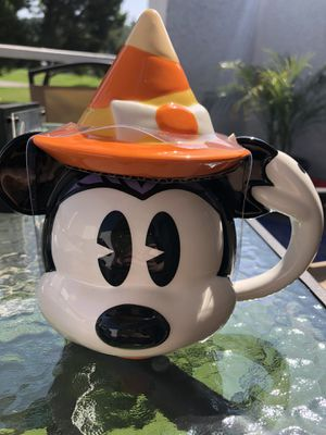 Disney Parks 2020 Minnie Mouse Halloween mug with lid for Sale in City of Industry, CA